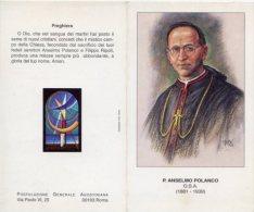 Santino Depliant P. ANSELMO POLANCO O.S.A. - PERFETTO G14 - Religion & Esotérisme