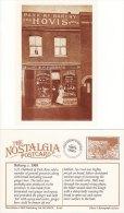 Postcard Guildhall LEICESTER 1904 Edwardian Nostalgia 14th Century Repro - Shops