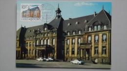 Luxemburg 1082 Yt 1032 Maximumkarte MK/MC, Orts-ET Dudelange, Rathaus, Düdelingen (erb. 1930-1932) - Maximumkaarten