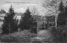 AVALLON  - Promenade Des Chaumes - Chemin Des Amoureux - - Avallon