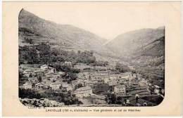 Laviolle - Vue Générale Et Col De Mézilhac - France