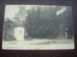 LINKEBEEK - A La Tour De MALAKOF Restaurant En 1901 - Liedekerke