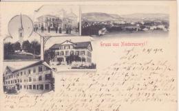 Gruss Aus  Niederuzwyl.  1901 - Saluti Da.../ Gruss Aus...