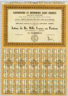 Cartonnerie Et Imprimerie Saint Charles à Marseille - Industrie