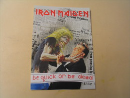 IRON MAIDEN...BE QUICK ..OR BE DEAD. - Musique Et Musiciens