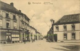 WAREGEM - WAEREGHEM - STATIESTRAAT - RUE DE LA GARE ( ESTAMINET ) - Waregem