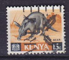Kenya 1966 Mi. 22     15 C Tier Animal Erdferkel - Kenia (1963-...)