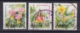 Kenya 1983 Mi. 240, 244-45     10 C & 50 C & 70 C Flowers Blumen - Kenia (1963-...)