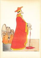 Le Vin ,dessin Humoristique Cotée De Sabatier,en Tenue Du Passé,amateur De Vin,tonneau,rare - Humour