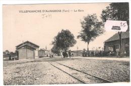 81 TARN VILLEFRANCHE D´ALBIGEOIS Gare - Villefranche D'Albigeois