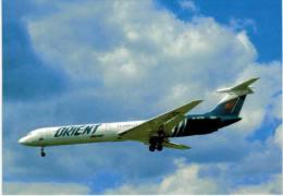 Thème -  Avion - Postcard N° 61 - Orient Avia - IL62M - Moscow 1995 - 1946-....: Moderne