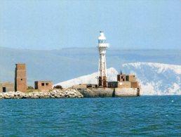 Postcard - Portland Breakwater Lighthouse, Dorset. SMH01 - Lighthouses