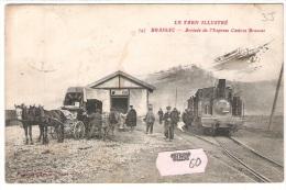 81 TARN BRASSAC Train Gare - Brassac