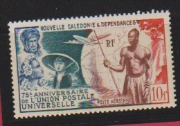 Nouvelle Calédonie  // 10 Francs Bleu  // N641  // Côte 8.5 € //  Poste Aérienne //  NEUF ** - New Caledonia