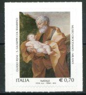 """ITALIA / ITALY 2013** - Natale """"Religioso"""" - 1 Val. Autoadesivo Come Da Scansione - 6. 1946-.. Repubblica"""