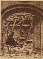 Planche Du Service Photographique De L´armée Belge WW1 Guerre Ruines De Nieuport - 1914-18