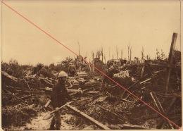 Planche Du Service Photographique De L´armée Belge WW1 Guerre Dans Les Ruines De Lizerne - 1914-18