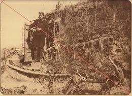 Planche Du Service Photographique De L´armée Belge WW1 Guerre Un Abri à Knocke - 1914-18