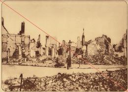 Planche Du Service Photographique De L´armée Belge WW1 Guerre Coin De Rue à Ypres - 1914-18