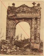 Planche Du Service Photographique De L´armée Belge WW1 Guerre Tour Noire à Ypres - 1914-18