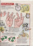 Page Coop Theme Montre Cadran Solaire Temps - Ohne Zuordnung