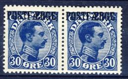 ##Denmark 1926. POSTFAERGE. Pair. Michel 7. MNH(**) - Paketmarken