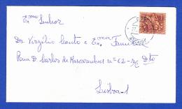 ENVELOPE --  CARIMBO - CTT . ALCAIDE - 27.4.72 - 1910-... República