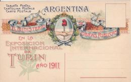 Esposizione Internazionale Di Torino 1911.   Argentina - Esposizioni