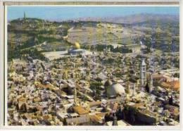 ISRAEL - JERUSALEM: Bird´s Eye View, Vue A Bol D´Oiseau, Vogelperspektive - Israel