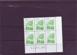 N° 2950 - 2,40F - LES VOSGES - 14.03.1995 - - 1990-1999