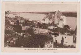 Montsoreau - Le Chateau Et Le Village - Cachet Militaire De Chevilly  1915 - Autres Communes