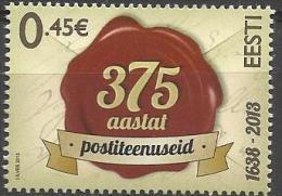 EE 2013-764 275A°POST OF EE, ESTONIA, 1 X 1v, MNH - Estland