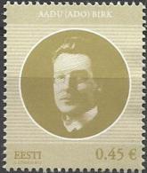 EE 2013-765 A.BIRK, ESTONIA, 1 X 1v, MNH - Estland