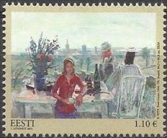 EE 2013-766 PAINTING, ESTONIA, 1 X 1v, MNH - Estland