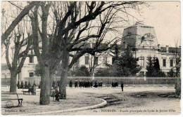 Tournon - Façade Principale Du Lycée De Jeunes Filles - Tournon