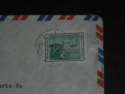 LETTRE FORMOSE FORMOSA TAIWAN AVEC YT 212 - TRAIN LOCOMOTIVE - - 1945-... République De Chine