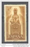 ES1192-LA423TAES.Espagne.Spain AÑO  JUBILAR DE MONSERRAT.1956.(Ed 1192**) Sin Charnela.MAGNIFICO. - Escultura
