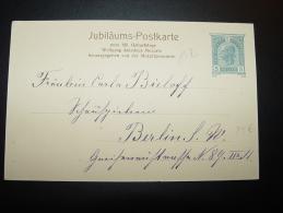 SALZBURG 27.1.1906 GEDENKFEIER DER 150. WIEDERKEHR VON WOLFG. AMADEUS MOZARTS GEBURTSTAG JUBILÄUMS-POSTKARTE - Sin Clasificación