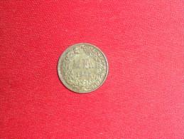 1/2 Franc / Suisse /Argent De 1958B / TTB.+( A Nétoyer). - Switzerland
