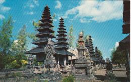 Bali Pura Tamanajun Temple At Menwi - Indonesia