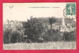 18-Saint Martin-D'Auxigny-vue Gènèrale Très Belle Cpa 1916 - Frankreich