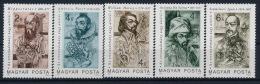 Hungary Ungarn Hippokrates Harvey Avicenna Ibn Sina Semmelweis Pare Medicine Set (5) °BM0921 MNH - Medizin