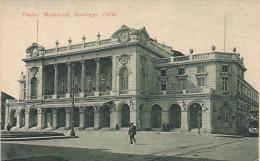 Chile Santiago Teatro Municipal Theatre