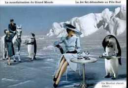 La Jet Set Délocalisée Au Pôle Sud Par Plonk Et Replonk - Humour