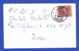 ENVELOPE 7X11 -- CARIMBO  PERFEITO - CTT . CAXIAS - 24.12.68 - 1910-... República
