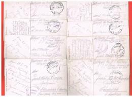 K.D.Feldpoststation Nr.471 - Etappenlazarett II  Modenheim I. Els. Sur Cartes D'Alsace Le Lot - Guerre De 1914-18