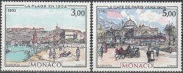Monaco 1983 Yvert 1385 - 1386 Neuf ** Cote (2015) 9.30 Euro Belle époque à Monaco - Monaco