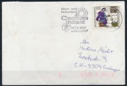Germany Deutschland Cochem Special Machine Postmark Wine Wein Werbestempel °BL0870 - Wein & Alkohol