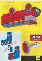 LEGO SYSTEM Plan Notice 401 (Pad. Pend S 111) - Plans