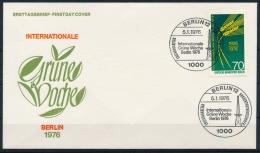 Germany Deutschland FDC Grüne Woche Weizen Wheat °BL0994 - Landwirtschaft